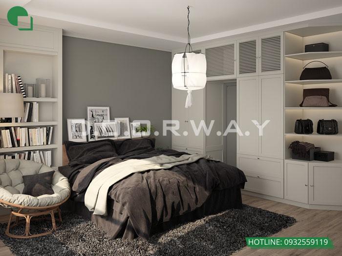PN1(1)- Khám phá vẻ đẹp của nội thất căn hộ 3 phòng ngủ 110 Cầu Giấy Center Point