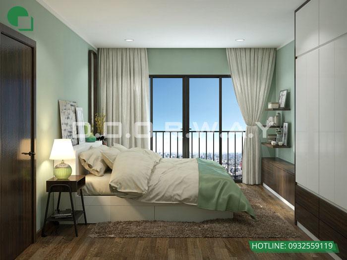 PN1(2)- Thiết kế nội thất căn hộ 2 phòng ngủ 110 Cầu Giấy Center Point - New 2019