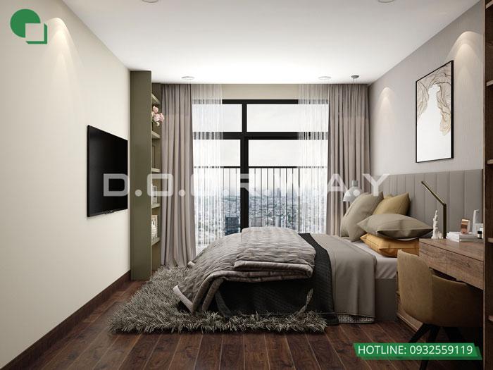 PN1(2)- Khám phá vẻ đẹp của nội thất căn hộ 3 phòng ngủ 110 Cầu Giấy Center Point