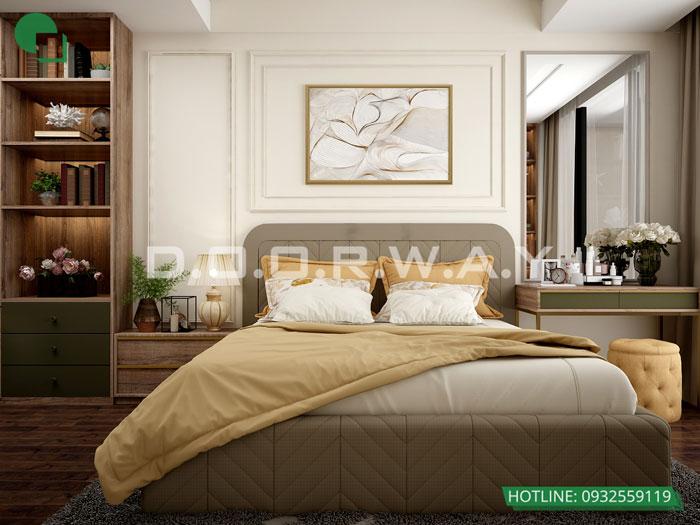 PN1(2)- Phương án thiết kế nội thất chung cư Hateco Apollo đẹp hiện đại