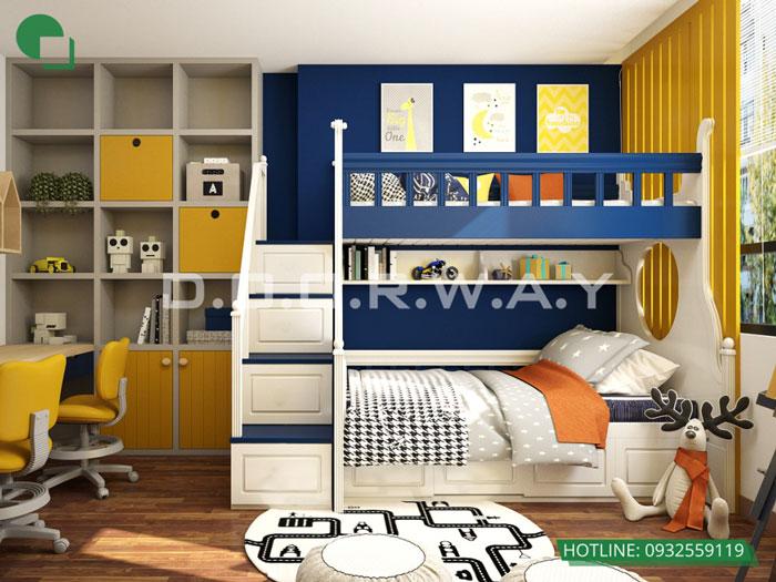 PN2(1)- 7 loại phòng trong thiết kế nội thất chung cư 110 Cầu Giấy Center Point