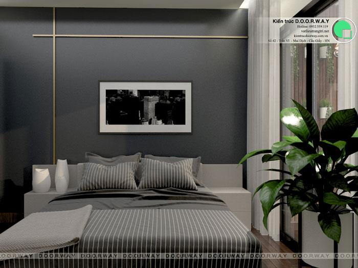 PN3(1)- thiết kế nội thất căn 94m2 A10 Nam Trung Yên - Căn hộ 3PN