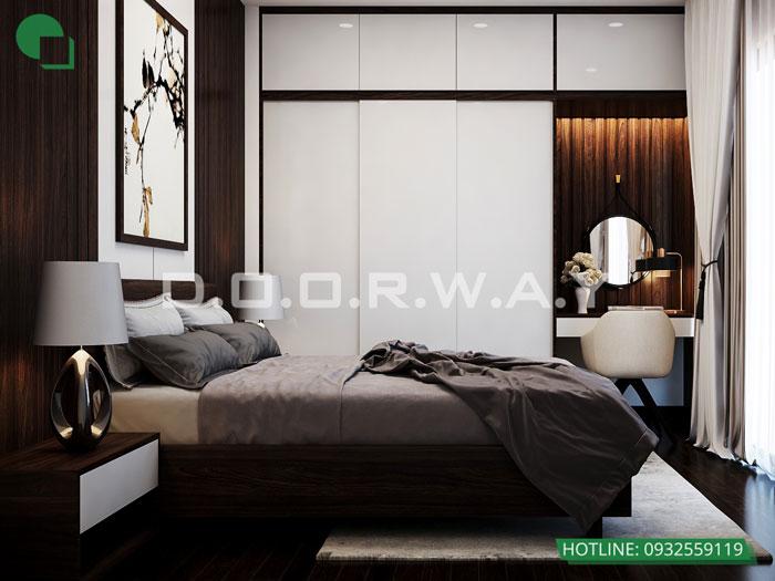 PN3(1)- Khám phá vẻ đẹp của nội thất căn hộ 3 phòng ngủ 110 Cầu Giấy Center Point