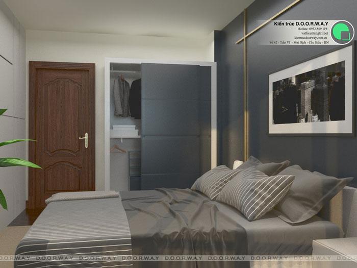 PN3(2)- thiết kế nội thất căn 94m2 A10 Nam Trung Yên - Căn hộ 3PN