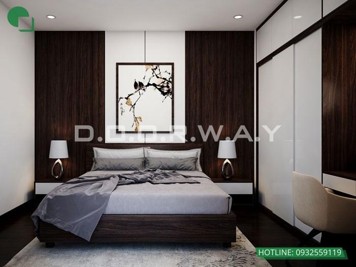 PN3(2)- Khám phá vẻ đẹp của nội thất căn hộ 3 phòng ngủ 110 Cầu Giấy Center Point