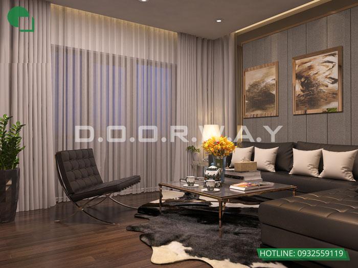 PSHC(1)- Phương án thiết kế nội thất chung cư Hateco Apollo đẹp hiện đại