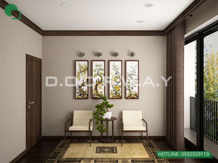 PT(2)- Khám phá vẻ đẹp của nội thất căn hộ 3 phòng ngủ 110 Cầu Giấy Center Point