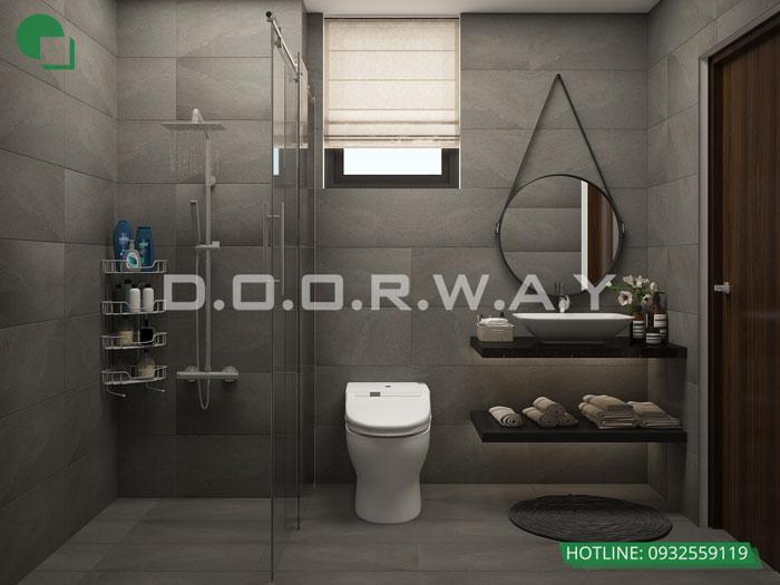 WC- Khám phá vẻ đẹp của nội thất căn hộ 3 phòng ngủ 110 Cầu Giấy Center Point