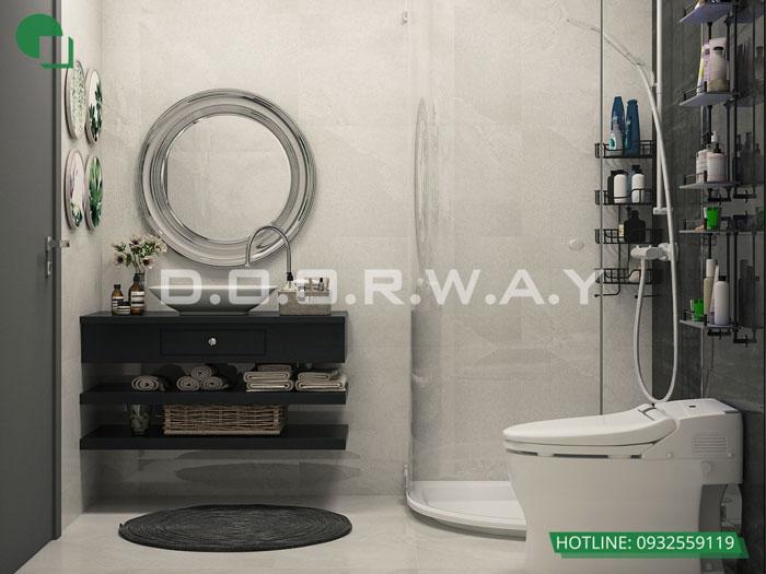 WC- 7 loại phòng trong thiết kế nội thất chung cư 110 Cầu Giấy Center Point