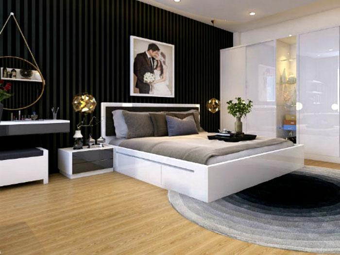 0- 3 Tiêu chuẩn thiết kế nội thất phòng ngủ cho người mệnh kim
