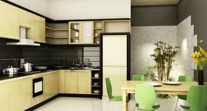 1- 3 nguyên tắc thiết kế phòng bếp hợp phong thủy hút tài lộc