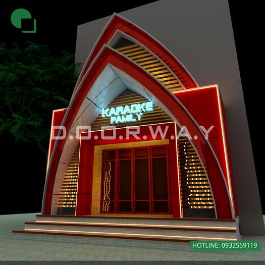 1- Khám phá thiết kế nội thất quán karaoke 150m2 - Karaoke Phương Hoa