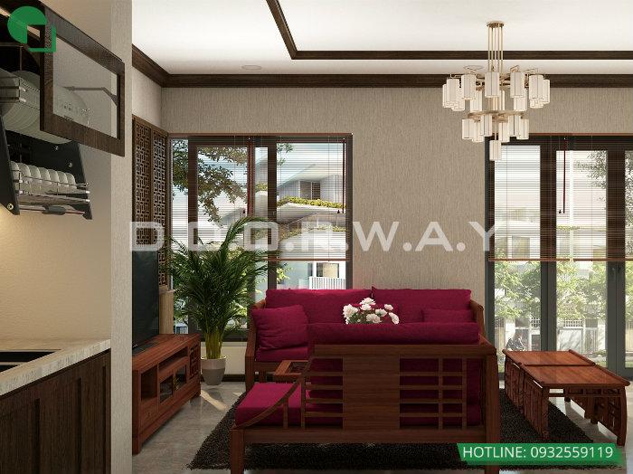 2- Gợi ý cách thiết kế nội thất phòng khách liền phòng ăn cho không gian rộng mở