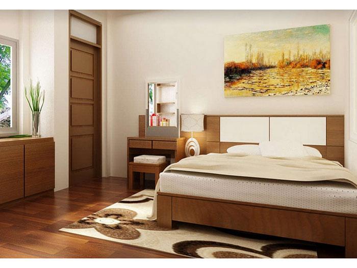 2-Vị trí giường ngủ đóng vai trò quan trọng trong giấc ngủ