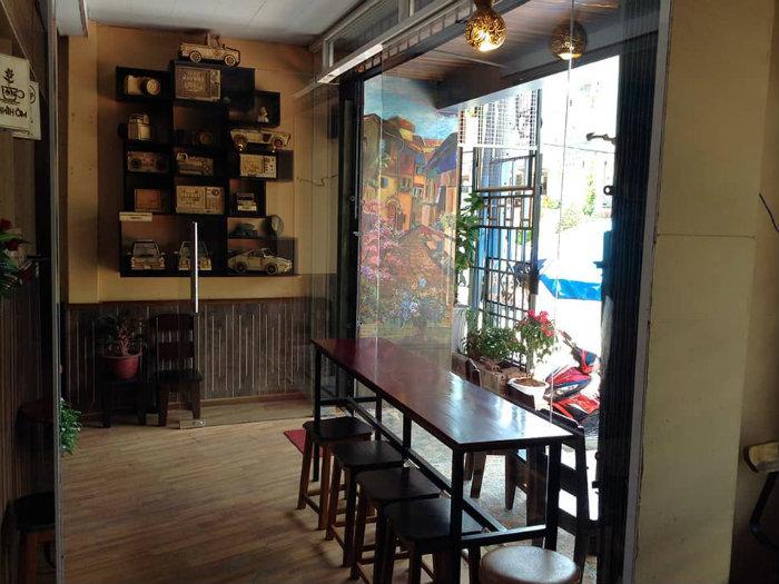 2- 3 lời khuyên hữu ích thiết kế quán cafe không gian hẹp