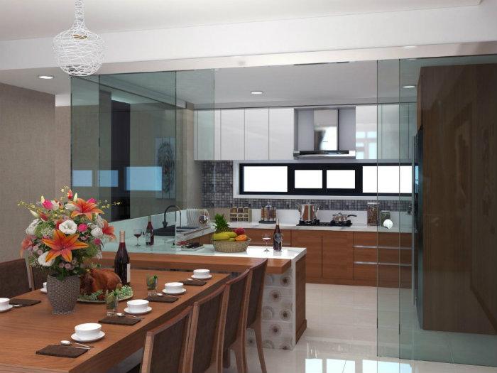 4- 3 nguyên tắc thiết kế phòng bếp hợp phong thủy hút tài lộc
