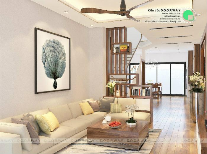 4- Gợi ý cách thiết kế nội thất phòng khách liền phòng ăn cho không gian rộng mở