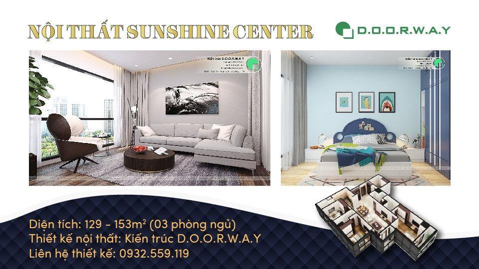 Ảnh tiêu biểu- Gợi ý mẫu nội thất căn 3 phòng ngủ Sunshine Center