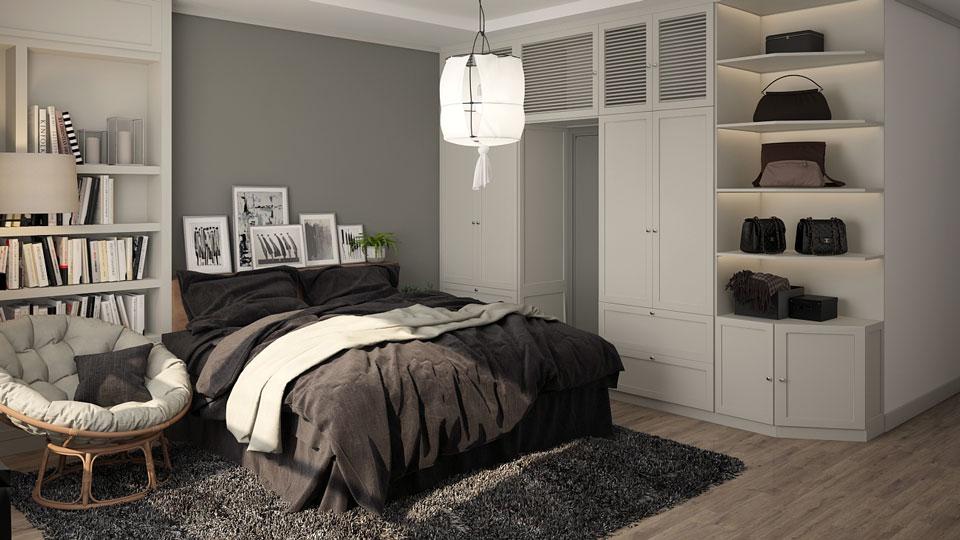 Ảnh tiêu biểu- Mẫu căn hộ phong cách Scandinavian tại chung cư Times city - chị Phương