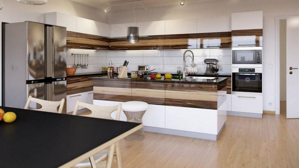 Ảnh tiêu biểu- 3 nguyên tắc thiết kế phòng bếp hợp phong thủy hút tài lộc