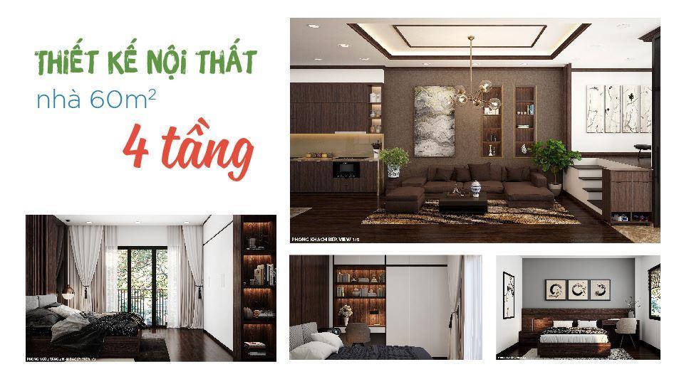 Ảnh tiêu biểu- [2019] thiết kế nội thất nhà 60m2 4 tầng vừa ở vừa cho thuê - bác Sĩ