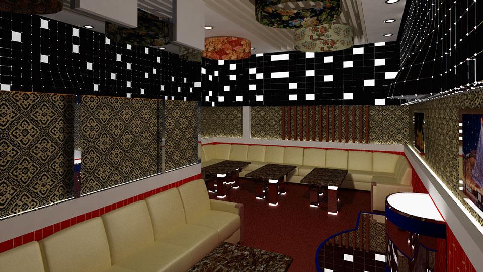 Ảnh tiêu biểu- Khám phá thiết kế nội thất quán karaoke 150m2 - Karaoke Phương Hoa