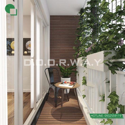 Logia- Gợi ý mẫu nội thất căn 3 phòng ngủ Sunshine Center