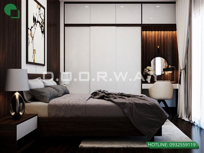 PN3(1)- [2019] thiết kế nội thất nhà 60m2 4 tầng vừa ở vừa cho thuê - bác Sĩ