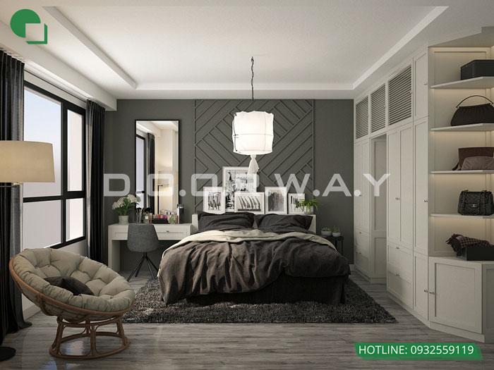 PN1(1)- Mẫu căn hộ phong cách Scandinavian tại chung cư Times city - chị Phương