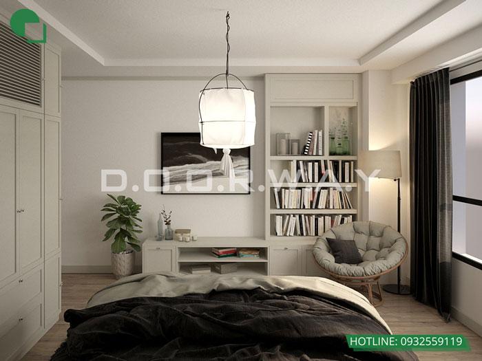 PN1(2)- Mẫu căn hộ phong cách Scandinavian tại chung cư Times city - chị Phương