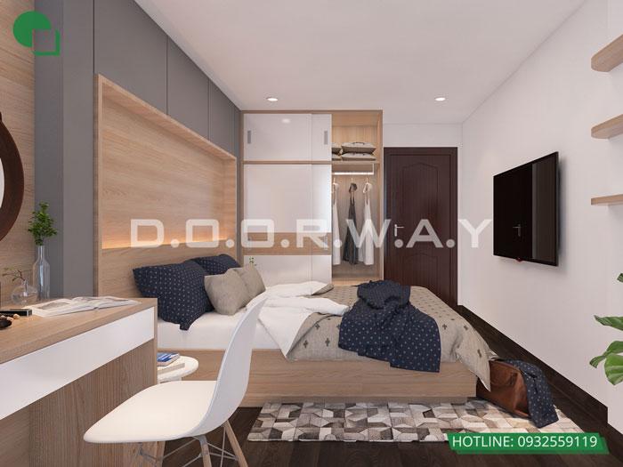 PN1(1)- Mẫu thiết kế nội thất chung cư Roman Plaza với nhiều sự chọn lựa