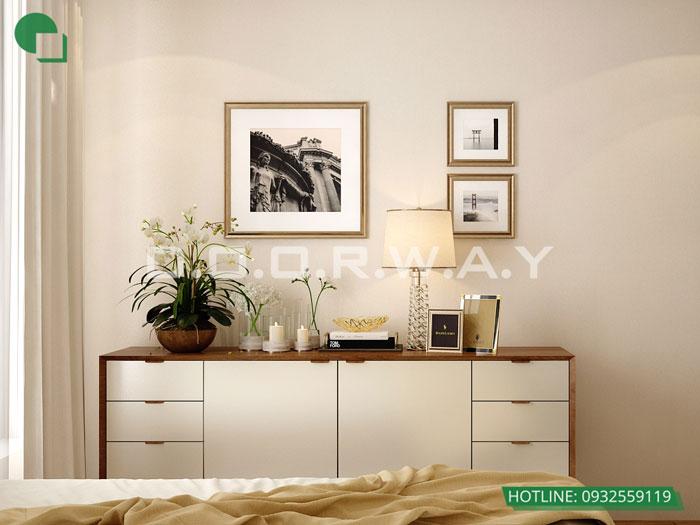 PN1(2)- Mẫu thiết kế nội thất căn 3 phòng ngủ Hateco Apollo