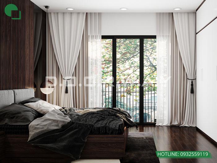 PN2(1)- [2019] thiết kế nội thất nhà 60m2 4 tầng vừa ở vừa cho thuê - bác Sĩ