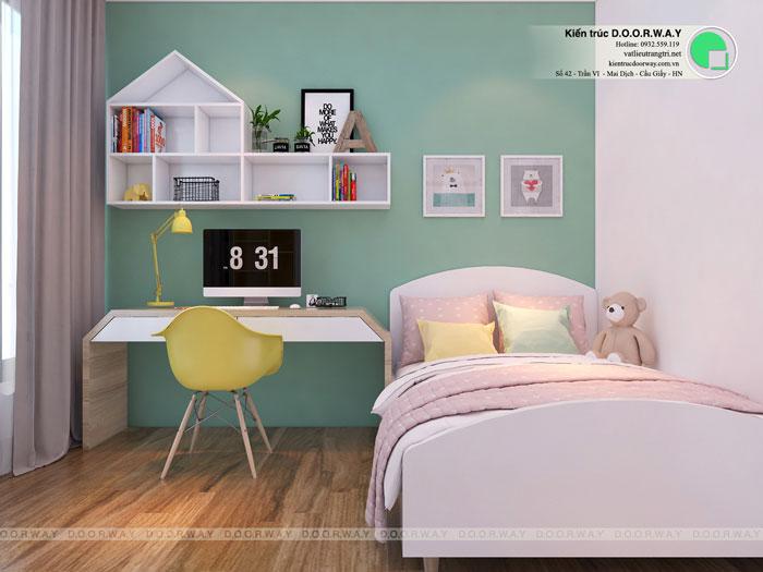 PN2(1)- Nội thất căn 3 phòng ngủ Roman Plaza cho gia đình nhiều thành viên