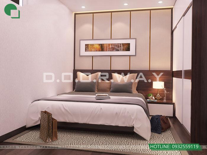 PN2(1)- Mẫu thiết kế nội thất căn hộ 70m2 Roman Plaza - 2019