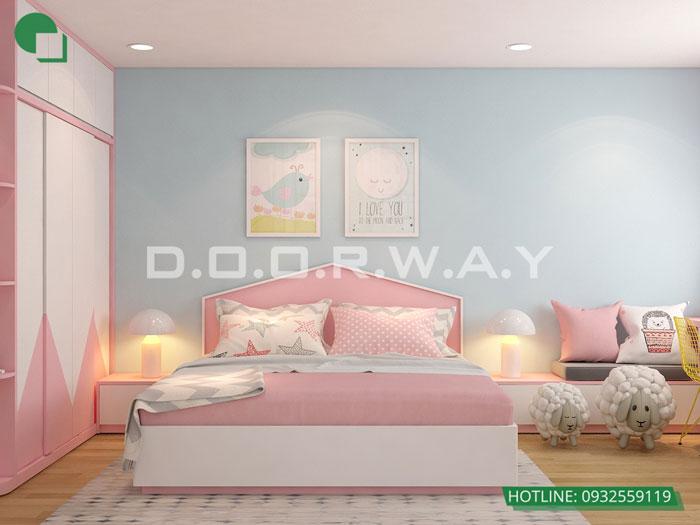 PN2(2)- Nội thất căn 3 phòng ngủ Roman Plaza cho gia đình nhiều thành viên