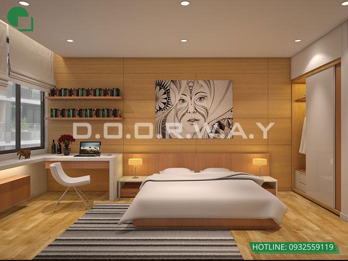 PN2(2)- Gợi ý mẫu nội thất căn 3 phòng ngủ Sunshine Center