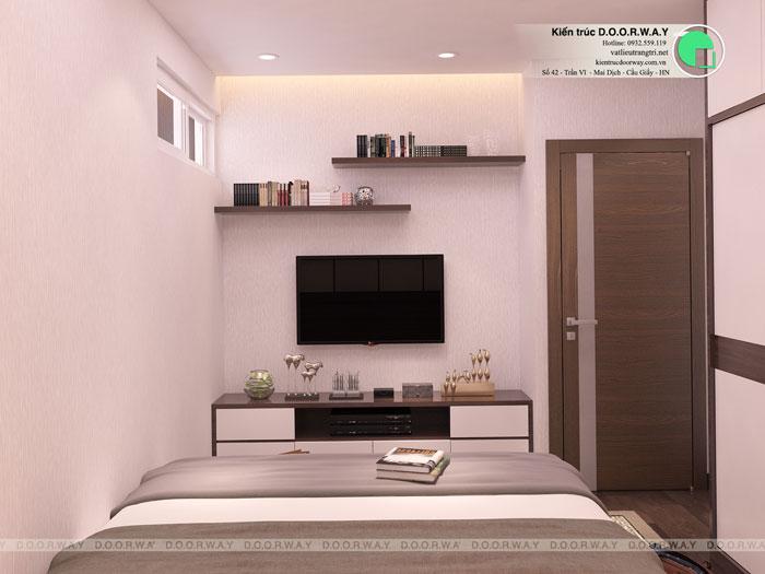 PN2(2)- Mẫu thiết kế nội thất căn hộ 70m2 Roman Plaza - 2019