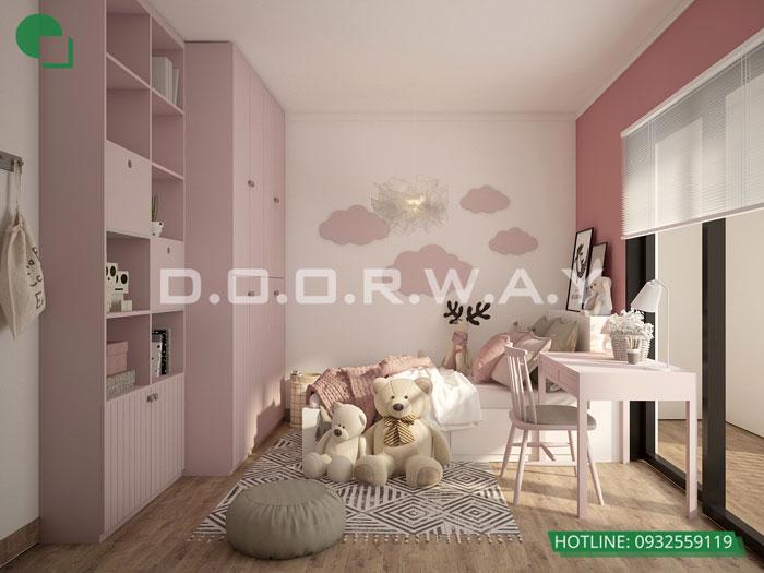 PN2(2)- Mẫu thiết kế nội thất chung cư Roman Plaza với nhiều sự chọn lựa