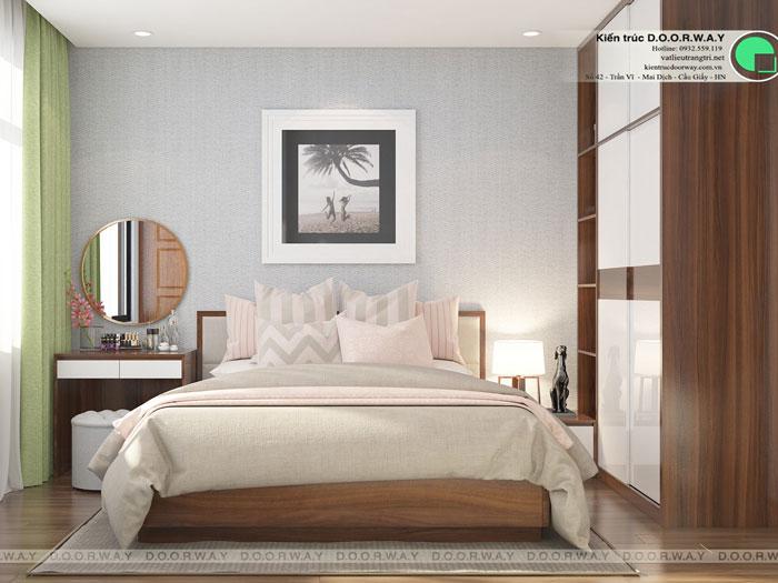 PN3(1)- Nội thất căn 3 phòng ngủ Roman Plaza cho gia đình nhiều thành viên