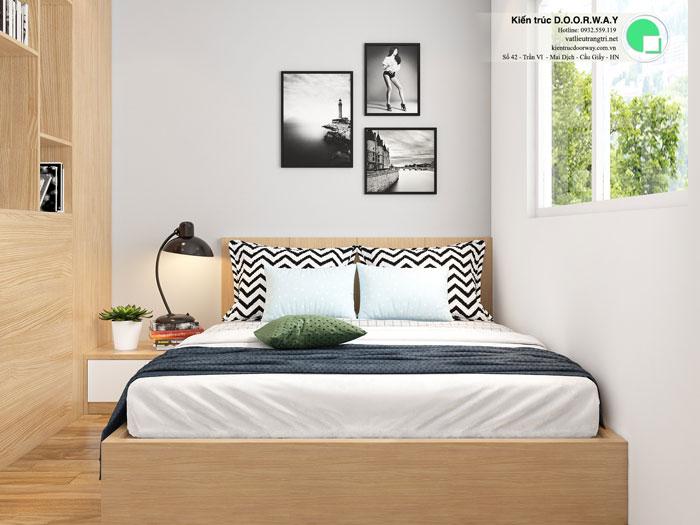 PN3(1)- Mẫu thiết kế nội thất căn 3 phòng ngủ Hateco Apollo