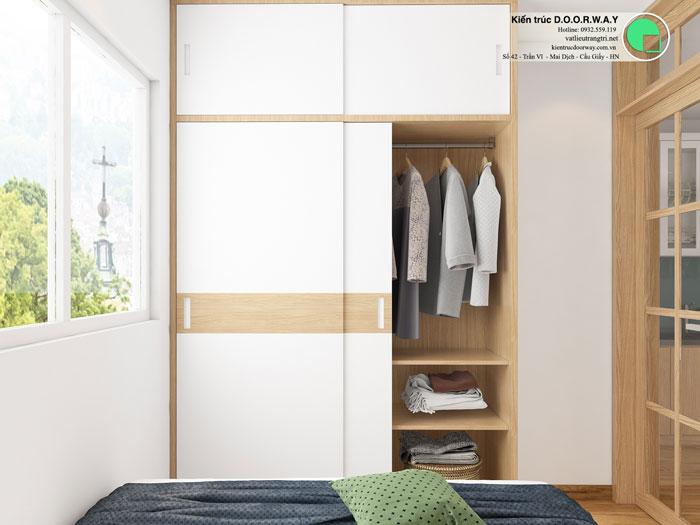 PN3(2)- Mẫu thiết kế nội thất căn 3 phòng ngủ Hateco Apollo