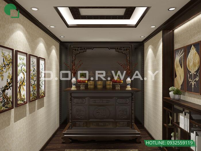 PN4(1)- [2019] thiết kế nội thất nhà 60m2 4 tầng vừa ở vừa cho thuê - bác Sĩ