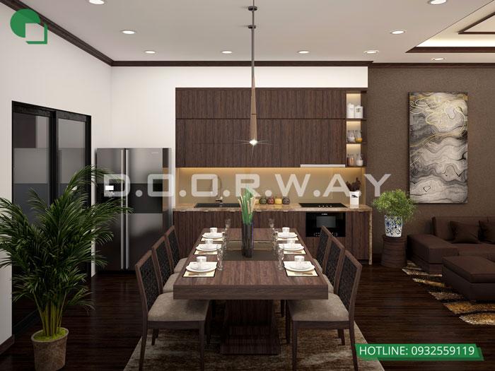 PKB4- [2019] thiết kế nội thất nhà 60m2 4 tầng vừa ở vừa cho thuê - bác Sĩ