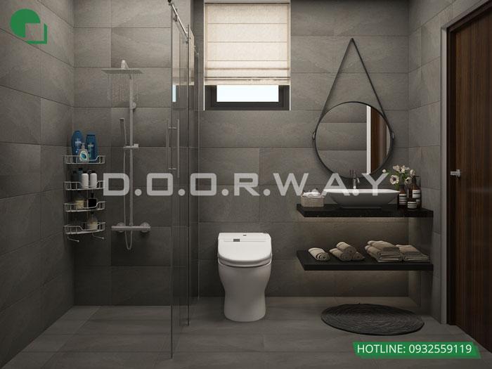 WC- Mẫu thiết kế nội thất chung cư Roman Plaza với nhiều sự chọn lựa
