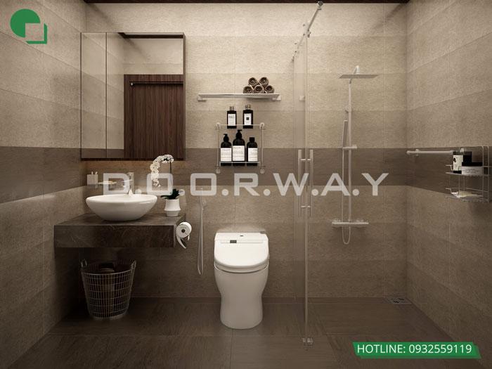 WC- [2019] thiết kế nội thất nhà 60m2 4 tầng vừa ở vừa cho thuê - bác Sĩ