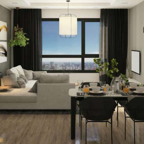 Ảnh tiêu biểu- Tại sao nên lựa chọn thiết kế thi công nội thất nhà ở tại kiến trúc Doorway