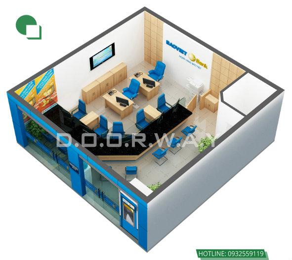 1- Top 4 mẫu thiết kế văn phòng đẹp khơi nguồn sáng tạo