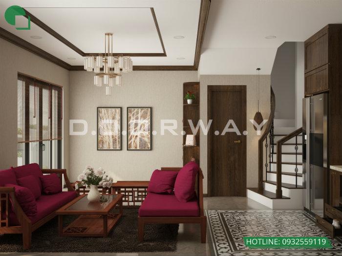 1- Thiết kế nội thất nhà đẹp diện tích nhỏ cho ngôi nhà 29m2