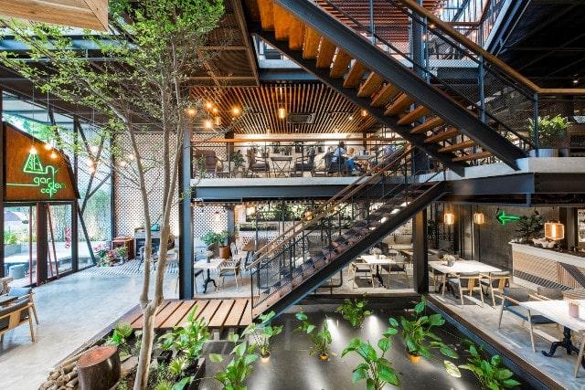 """1- Những lý do nên thiết kế quán cafe thép tiền chế """"sang chảnh"""""""